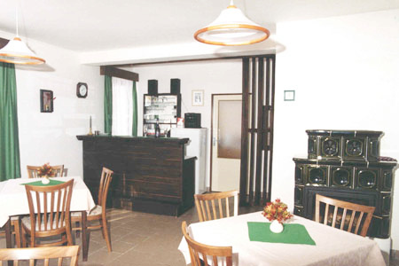 Ubytování na horách v Penzionu v Rokytnici v Orlických horách - restaurace