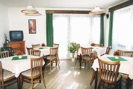 Ubytování na horách - Penzion v Rokytnici v Orlických horách - restaurace